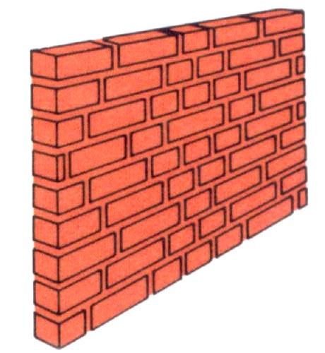 Schemi di posa delle murature for Disegni di garage di mattoni